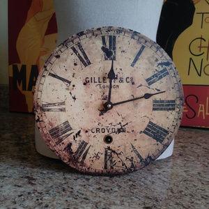 Timeworks Wall Clock - Vintage Look/Design - NIB